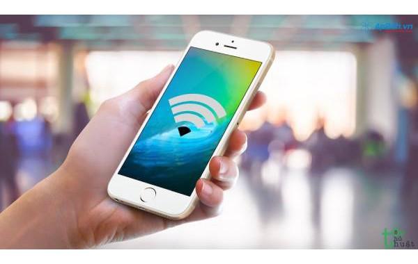 Thủ thuật phát Wifi trên Iphone 5, Iphone 6s, Iphone 7... nhanh nhất