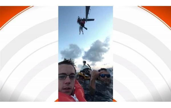Chiếc iPhone cứu người phụ nữ bị lật úp thuyền