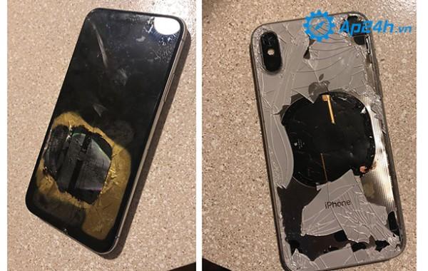 iPhone X phát nổ sau khi nâng cấp lên iOS 12.1