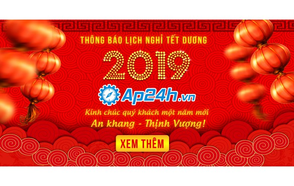 Thông báo lịch nghỉ lễ Tết Dương lịch 2019