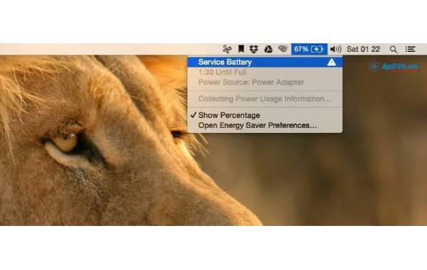 Tổng hợp 3 cách khắc phục lỗi pin Macbook báo Service Battery