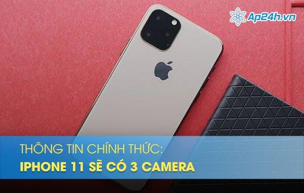 Hé lộ hình ảnh thư mời sự kiện thông báo iPhone 11 có 3 camera vào ngày 10/9