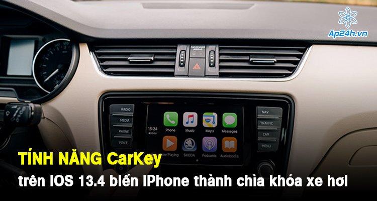 Tính năng CarKey trên iOS 13.4 biến iPhone thành chìa khóa xe hơi