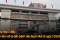Tổng hợp 3 điều cần làm với ai đến bệnh viện Bạch Mai từ ngày 12/3/2020