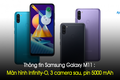 Thông tin Samsung Galaxy M11 : Màn hình Infinity-O, 3 camera sau, pin 5000 mAh