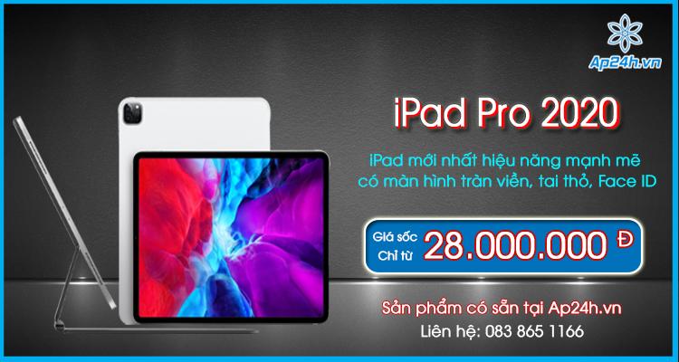 4 tính năng mới của iPad Pro 2020 khiến bạn chọn nó thay vì sản phẩm khác