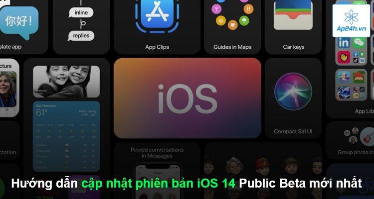 Hướng dẫn cập nhật phiên bản iOS 14 Public Beta mới nhất
