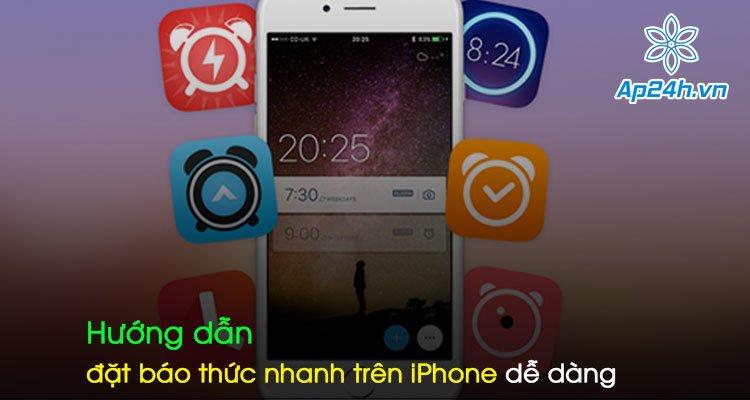 Hướng dẫn đặt báo thức nhanh trên iPhone dễ dàng
