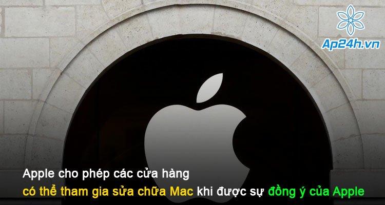 Apple cho phép các cửa hàng có thể tham gia sửa chữa Mac khi được sự đồng ý của Apple