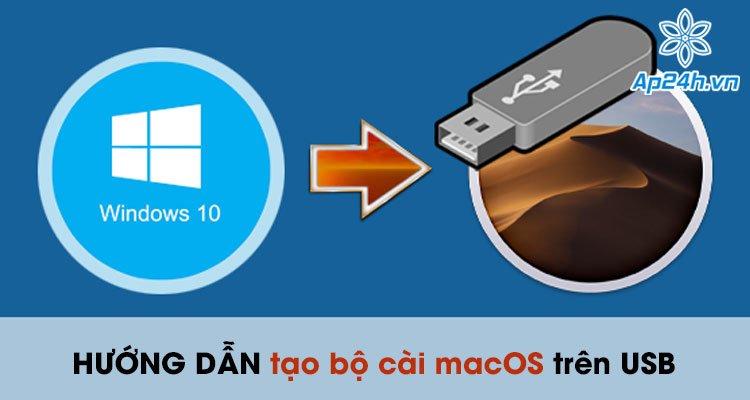 Hướng dẫn cách tạo bộ cài macOS trên USB chi tiết và chính xác nhất