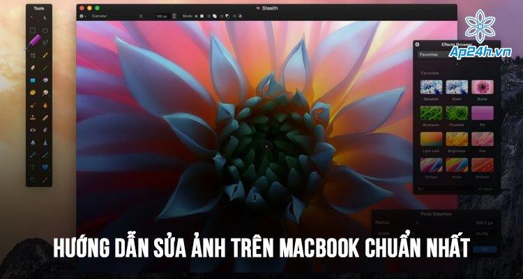 Hướng dẫn sửa ảnh trên MacBook chuẩn nhất