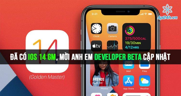 Đã có iOS 14 GM, mời anh em developer beta cập nhật