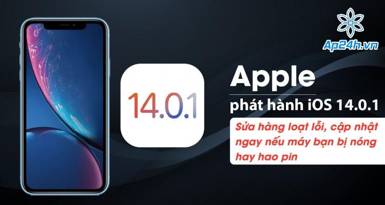 Apple phát hành iOS 14.0.1: Sửa hàng loạt lỗi, cập nhật ngay nếu máy bạn bị nóng hay hao pin