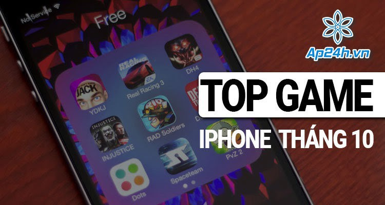 Top game hay cho iPhone tháng 10 năm 2020