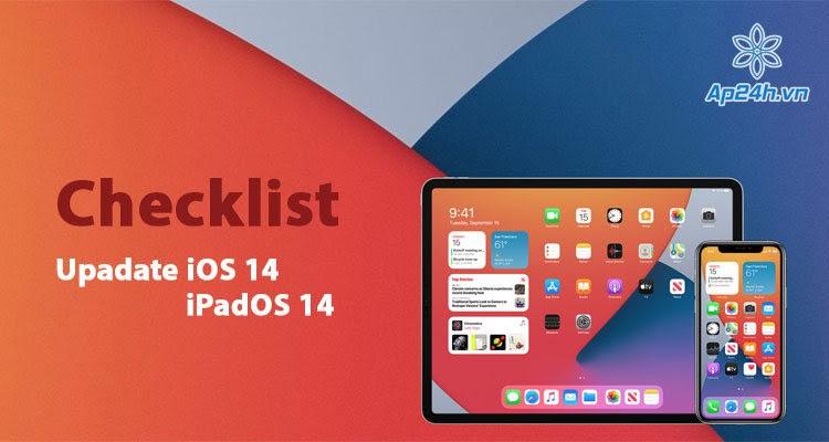 3 việc cần làm trước khi cập nhật iOS 14, iPadOS 14