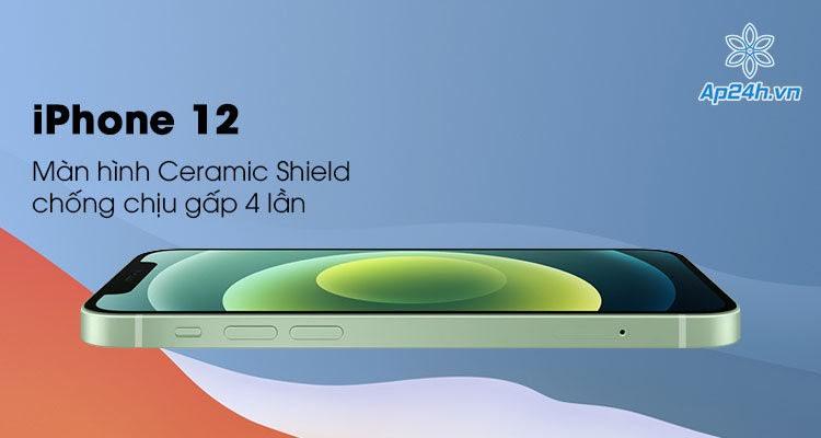 iPhone 12 mới ra mắt trang bị công nghệ màn hình Ceramic Shield