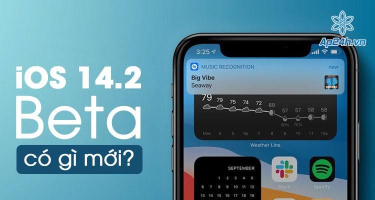 Apple phát hành iOS 14.2 beta cho nhà phát triển