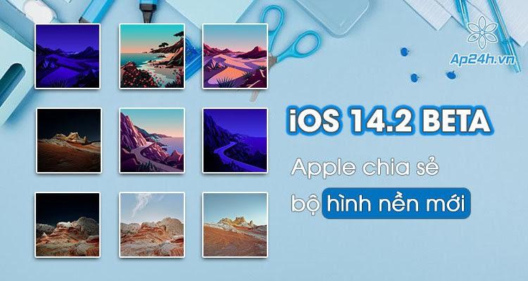 Tải ngay bộ hình nền iOS 14.2 cực đẹp cho iPhone