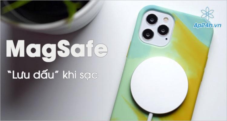 MagSafe lưu lại dấu trên vỏ iPhone 12, làm việc với sạc 12W