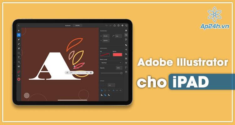 Người dùng đã có thể tải Adobe Illustrator cho iPad
