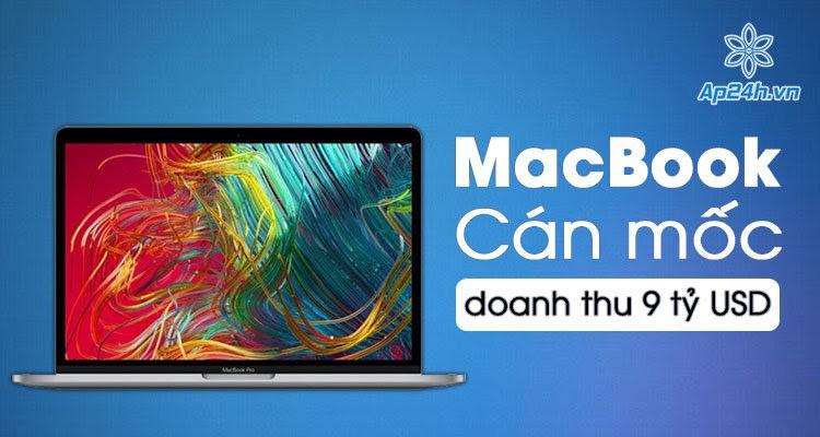 Doanh số bán máy Mac của Apple lập kỷ lục mới trong quý 4