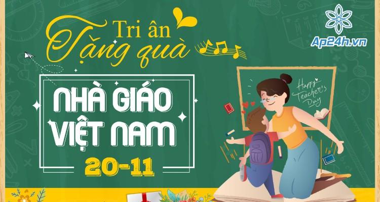 Tri ân tặng quà - Chào mừng ngày Nhà giáo Việt Nam 20/11