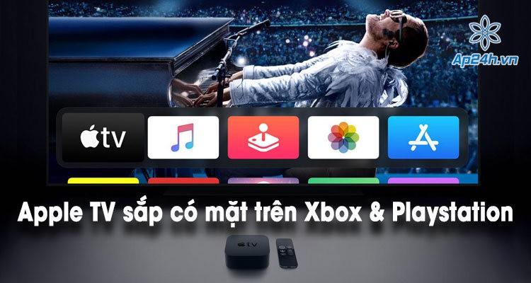 Ứng dụng Apple TV sắp có mặt trên Xbox và Playstation