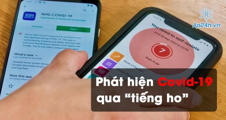"""Ứng dụng phát hiện virus Covid-19 thông qua """"tiếng ho"""""""