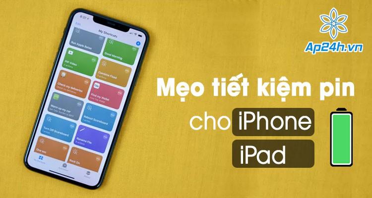 2 cách tiết kiệm pin iPhone và iPad cực hiệu quả trên iOS 14