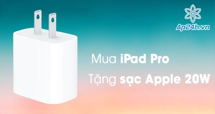 Mua iPad Pro mới có thể được tặng kèm bộ sạc 20W Apple USB-C