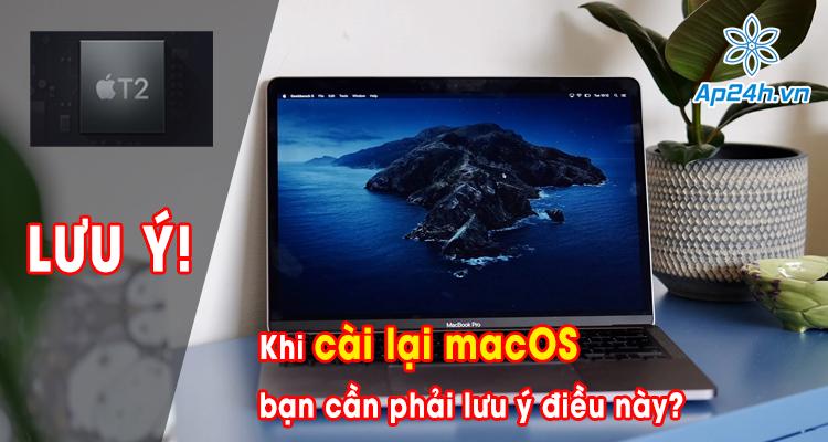 Cách tắt Secure Boot trên máy Mac sử dụng chip Apple T2 chính xác nhất