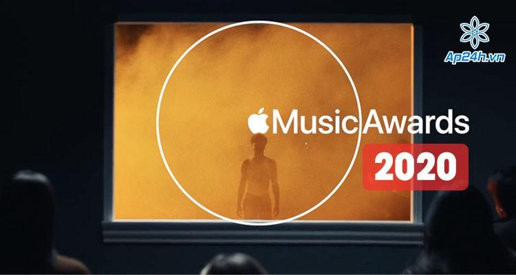 Lễ trao giải thưởng Apple Music Awards 2020 vinh danh nghệ sĩ, tác phẩm nổi bật