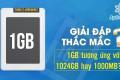Giải đáp thắc mắc: 1GB tương ứng với 1024GB hay 1000MB?