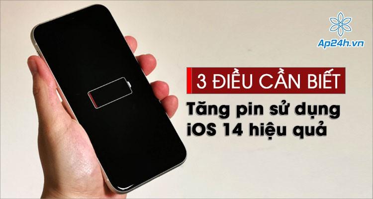 iOS 14.1: 3 điều bạn cần biết để tăng thời gian sử dụng pin iPhone hiệu quả