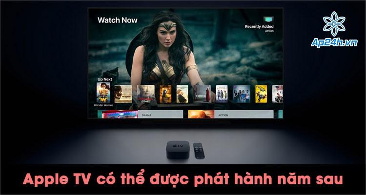 Apple TV mới có thể được phát hành vào năm sau, nâng cấp trải nghiệm chơi game