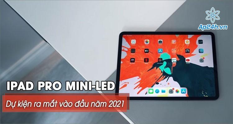 Apple dự kiến ra mắt iPad Pro mini-LED màn hình 12,9 inch vào đầu năm 2021