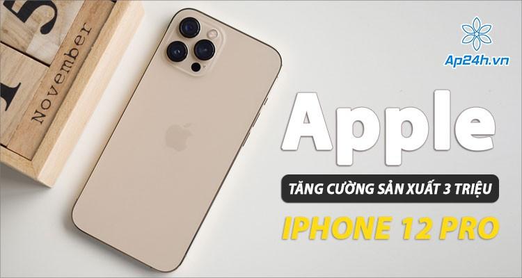 Apple đẩy mạnh sản xuất iPhone 12 Pro, cắt giảm sản lượng iPhone 12 Mini