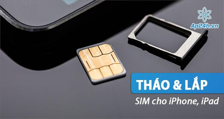 Hướng dẫn thao tác tháo SIM iPhone và gắn lại chuẩn xác và an toàn