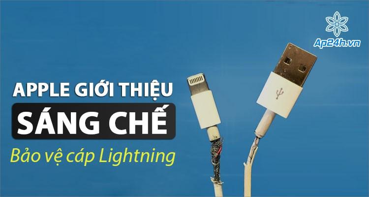 Apple nghiên cứu giải pháp bảo vệ cáp Lightning cho iPhone, iPad
