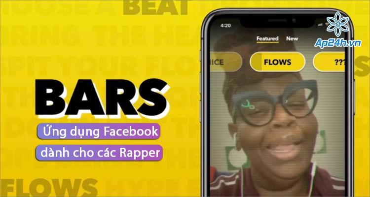 Ra mắt BARS - Ứng dụng Rap trên nền nhạc có sẵn của Facebook