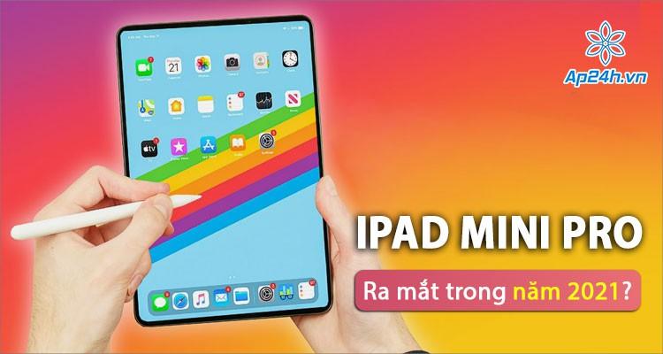 iPad mini Pro thực sự sẽ xuất hiện trên thị trường?