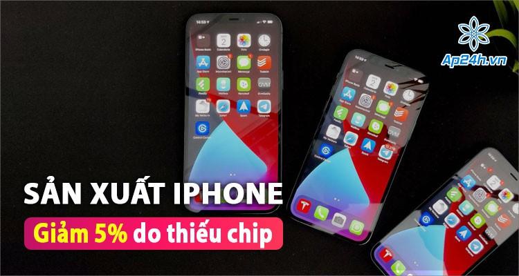 Nhà máy sản xuất iPhone gặp gián đoạn do thiếu nguồn chip màn hình