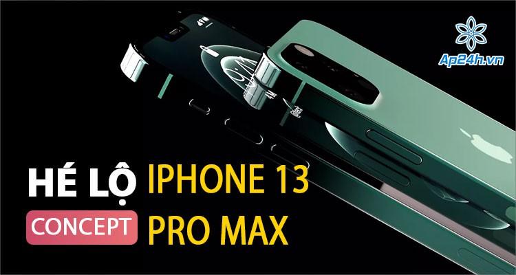 Video Concept iPhone 13 Pro Max - Hé lộ mẫu iPhone đẹp nhất từ trước tới nay