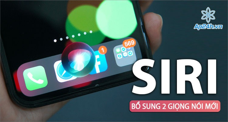 Bổ sung 2 giọng nói Siri, người dùng tự do lựa chọn giới tính cho trợ lý ảo