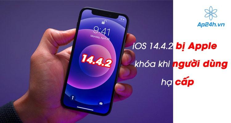 iOS 14.4.2 đã bị khóa sau vài giờ phát hành phiên bản iOS 14.5.1