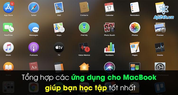 Tổng hợp các ứng dụng cho MacBook giúp bạn học tập tốt nhất