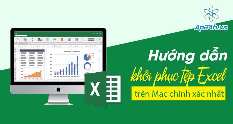 Hướng dẫn khôi phục tệp Excel trên Mac chính xác nhất