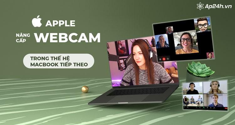 Apple sẽ nâng cấp webcam trong thế hệ MacBook tiếp theo