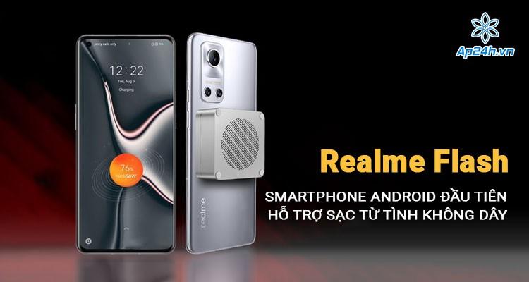 Realme Flash - điện thoại Android đầu tiên hỗ trợ sạc không dây từ tính