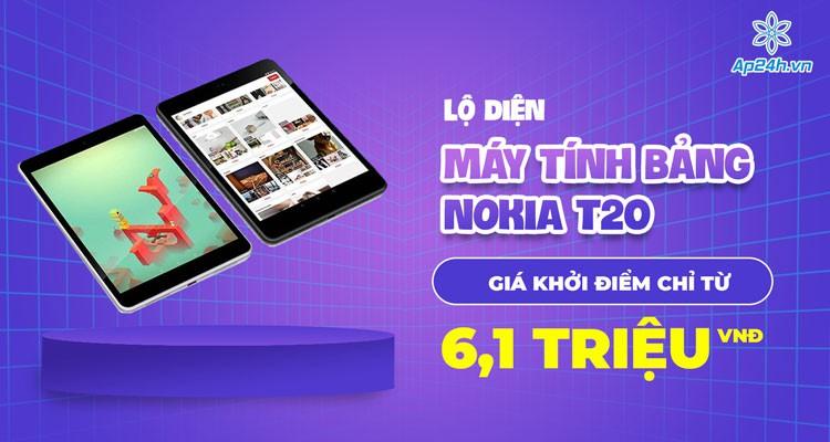 Lộ diện máy tính bảng Nokia T20 giá khởi điểm chỉ từ 6,1 triệu đồng?